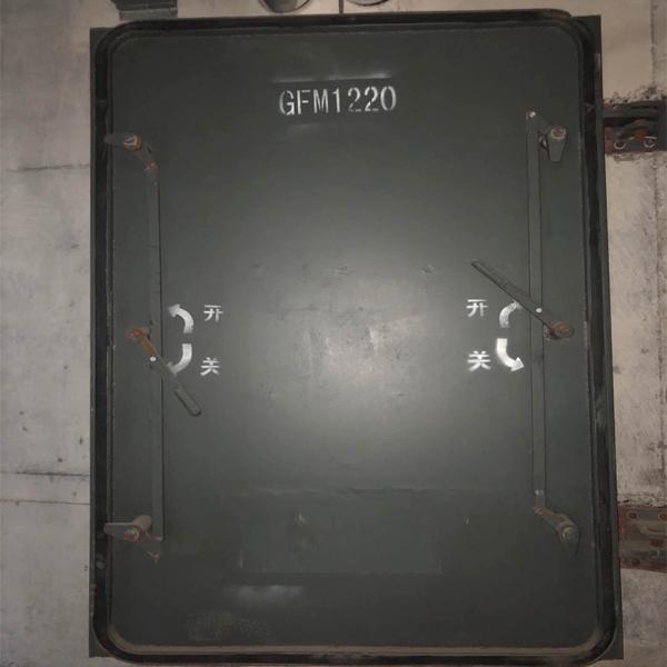 鋼結構單扇防護密閉門